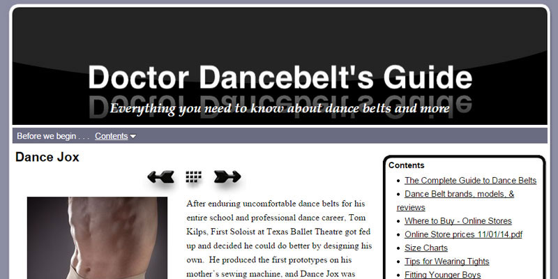 Doctor Dancebelt's Guide