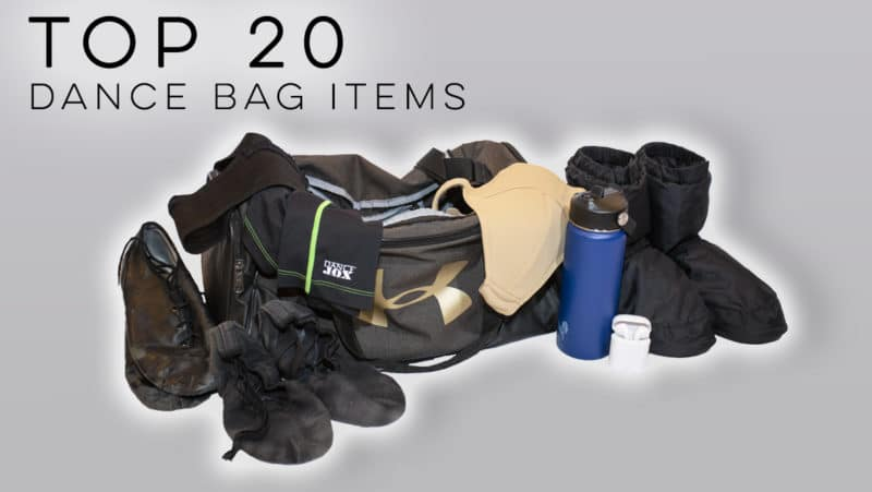 Men's Dance Bag Items