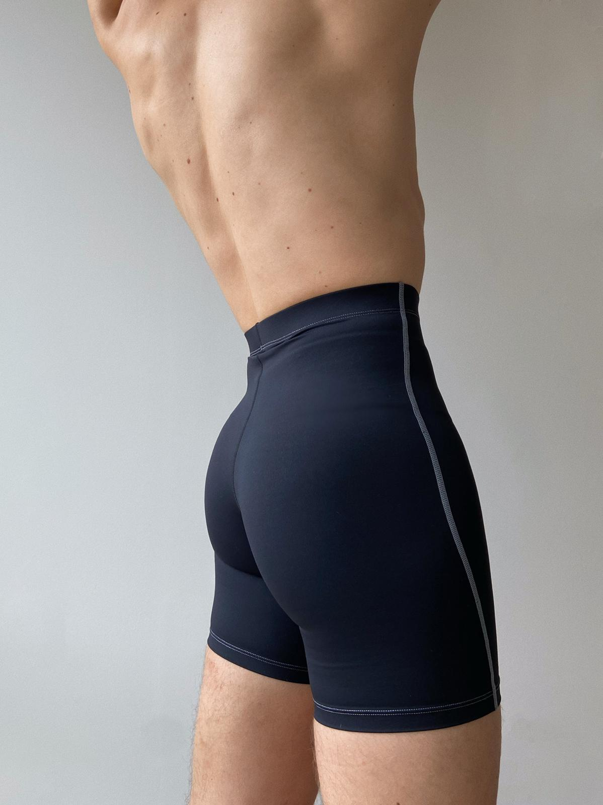 Dance shorts for men.